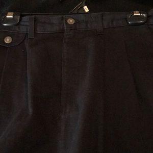 Women long black  skirt